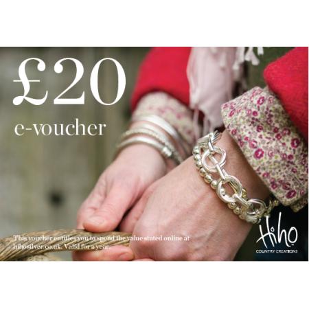 £20 e-voucher - redeemable online