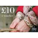 £10 e-voucher - redeemable online