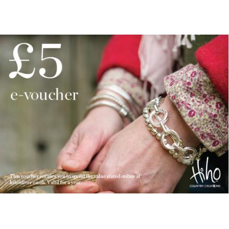 £5 e-voucher - redeemable online