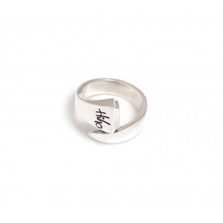 Sterling Silver Farrier Nail Ring