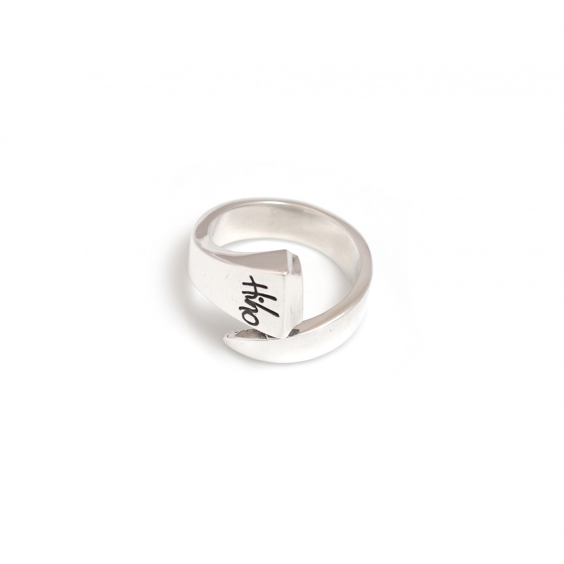 55c8b9dc333bb Sterling Silver Farrier Nail Ring