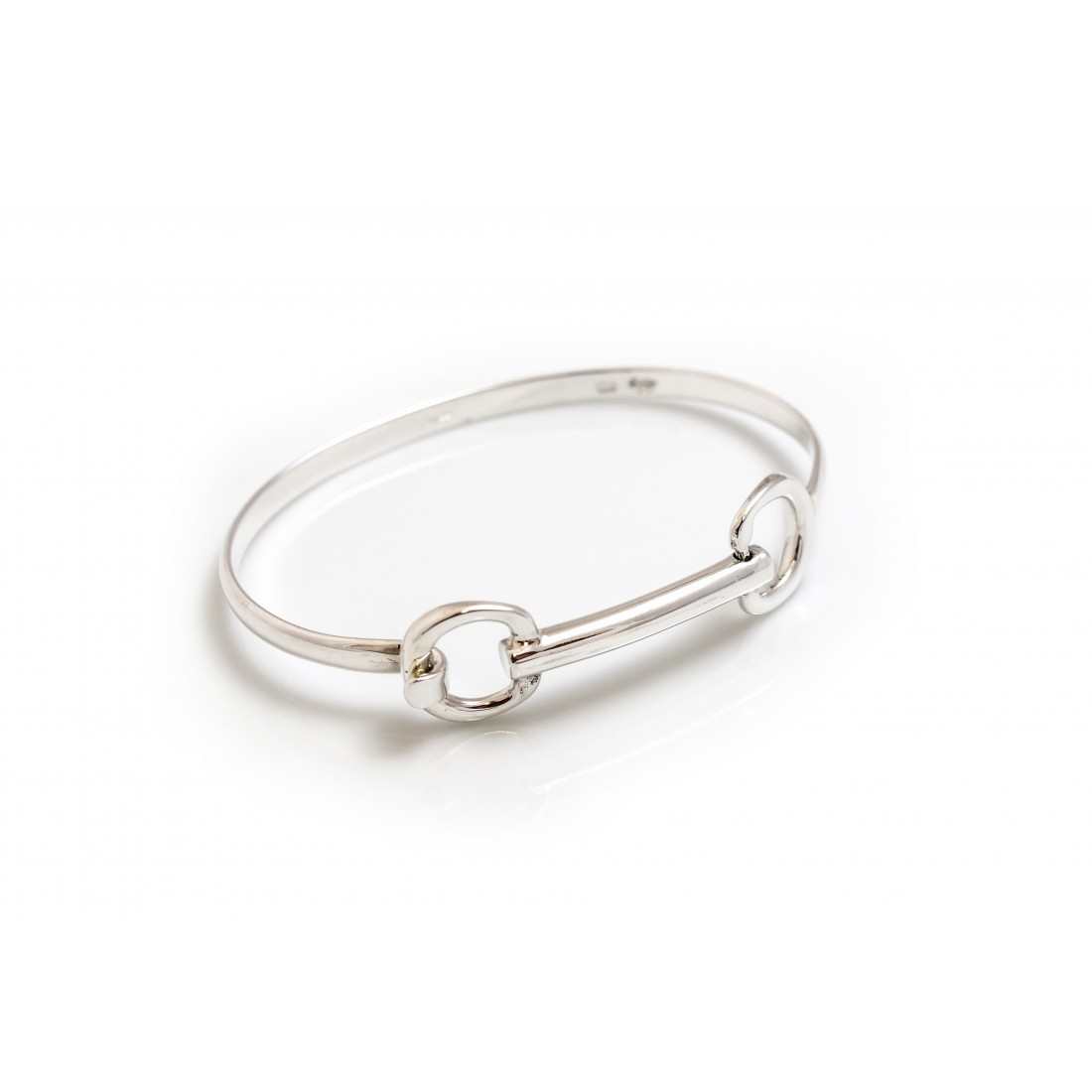 Sterling Silver Build Your Own Cherry Roller Bangle