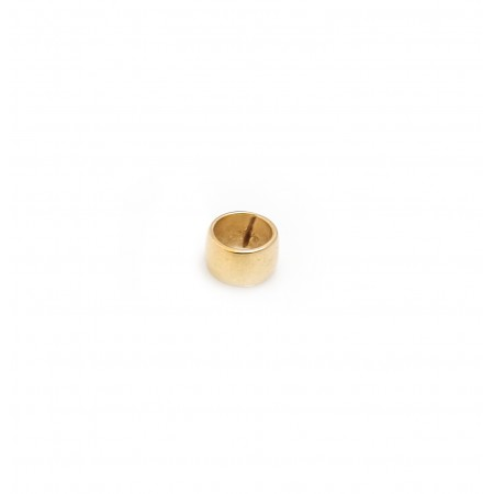 Sterling Silver & 18ct Yellow Gold Vermeil Charm Bead