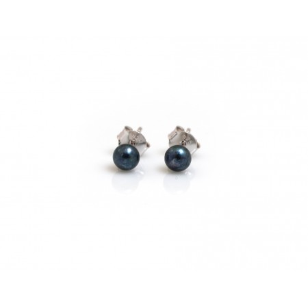 Freshwater Peacock Pearl Studs