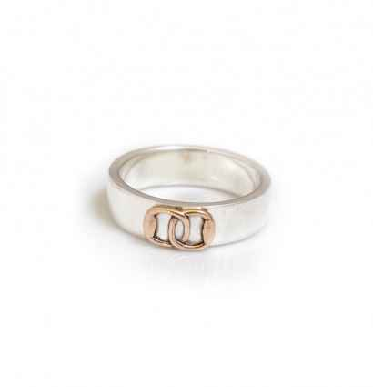 Hiho Silver launches new limited edition ring with solid rose gold elements