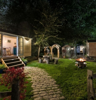Introducing Blackdown Shepherd Huts - the location for Hiho & Co